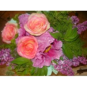 Bukiet z różami