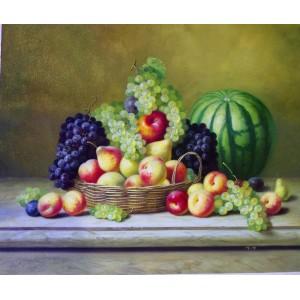 Martwa natura - soczyste owoce